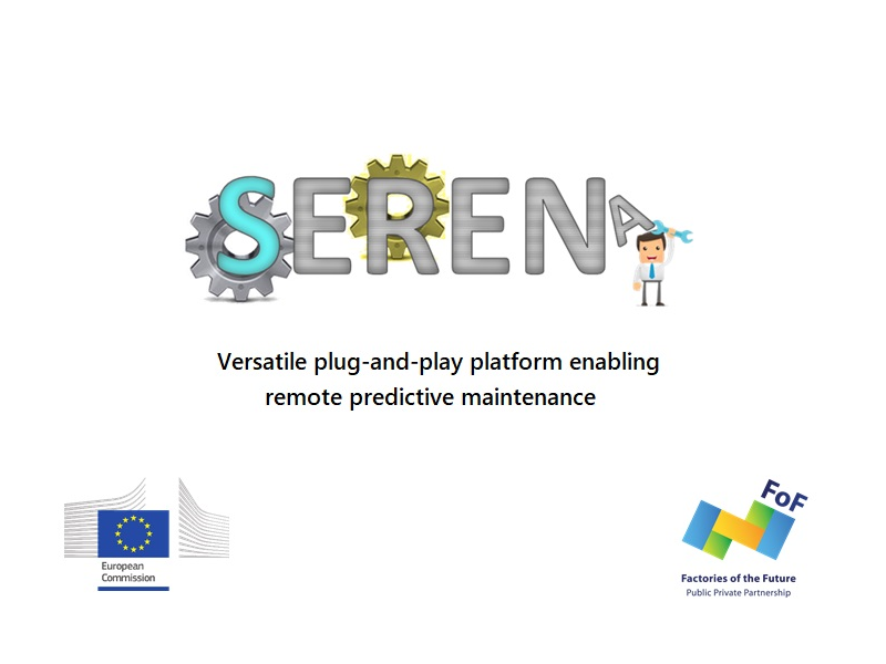 SERENA - Versatile plug-and-play platform enabling remote predictive maintenance.